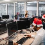 Weihnachtsgrüße an Mitarbeiter