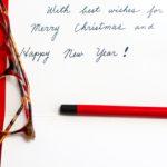 Weihnachtsgrüße in Englisch