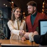 Weihnachtsgrüße für Hotelgäste / Feriengäste