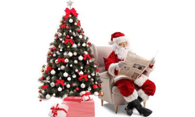 Weihnachtsgrüße für Zeitungszusteller / Zeitungsausträger