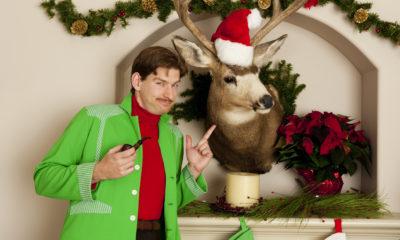 Weihnachtsgrüße für Jäger
