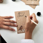Weihnachtskarte für Kunden