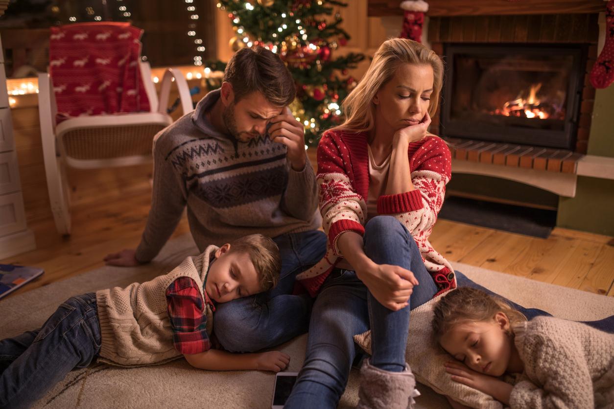 Weihnachtskarte nach Todesfall