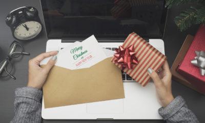 Weihnachtskarte für den Chef