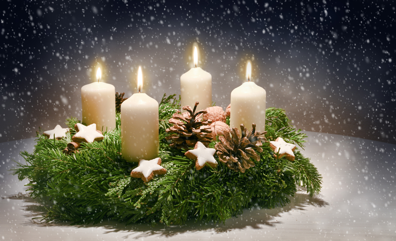 Lustige Adventsgrüße