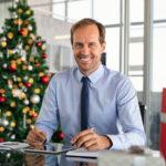 Weihnachtswünsche für Mitarbeiter