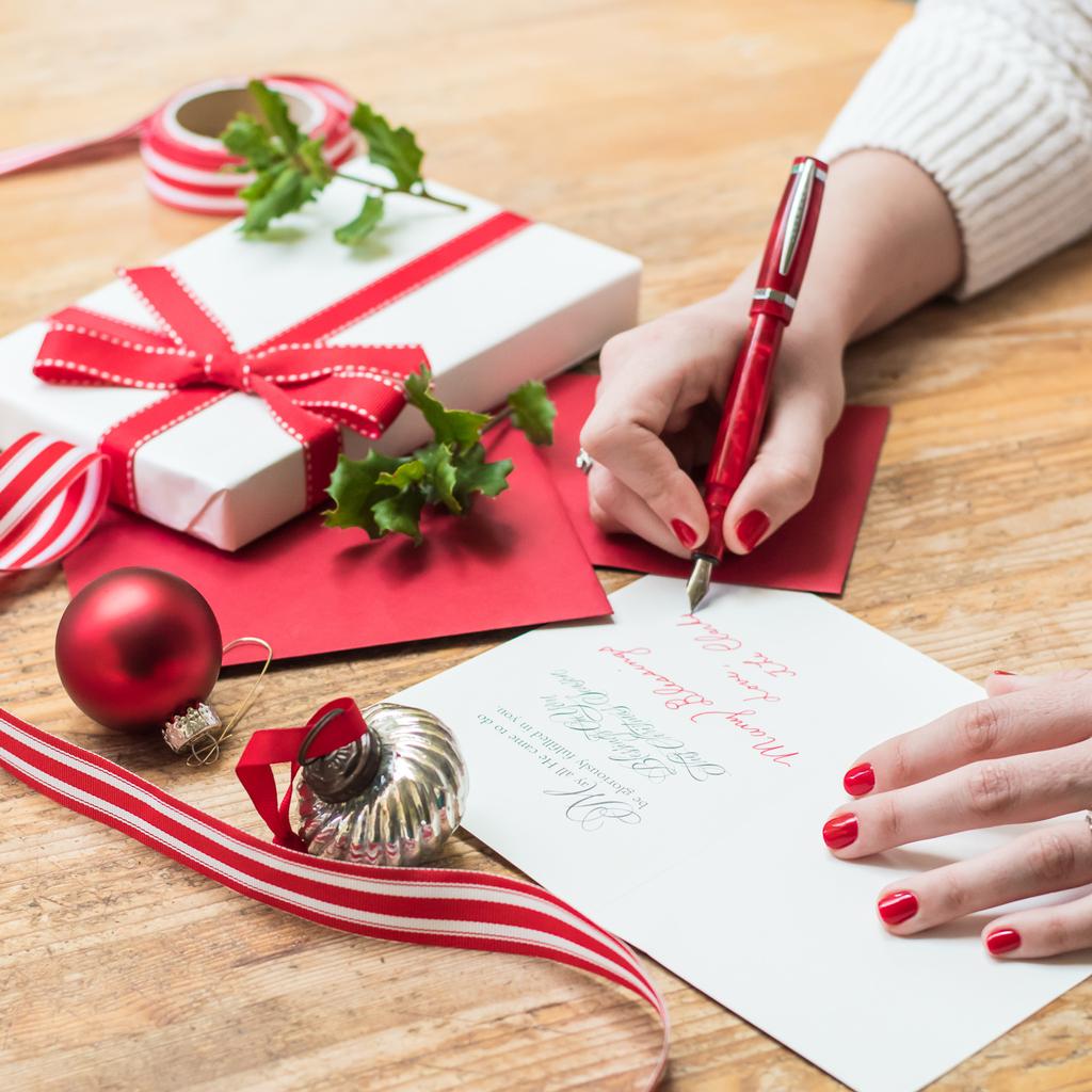 Weihnachtskarte auf Englisch schreiben