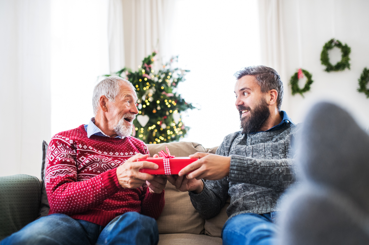 Weihnachtsgedichte für Väter