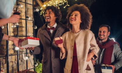 Weihnachtsgrüße für Gäste