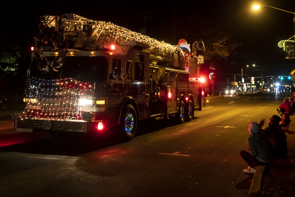 Weihnachtsgrüße für die Feuerwehr
