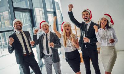 Weihnachtsgrüße für die gute Zusammenarbeit