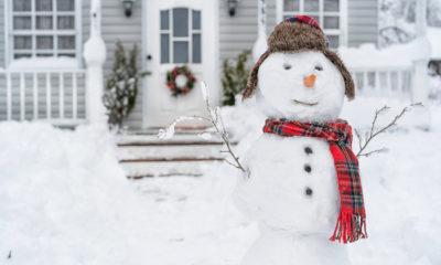 Weihnachtsgedichte im Schnee