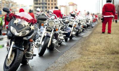 Weihnachtssprüche für Motorradfahrer