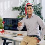 Weihnachtsglückwünsche geschäftlich / für Firmen