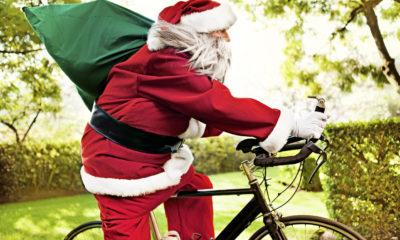 Weihnachtsgrüße für Radfahrer