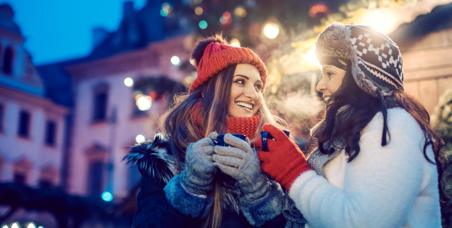 Weihnachtssprüche für die beste Freundin