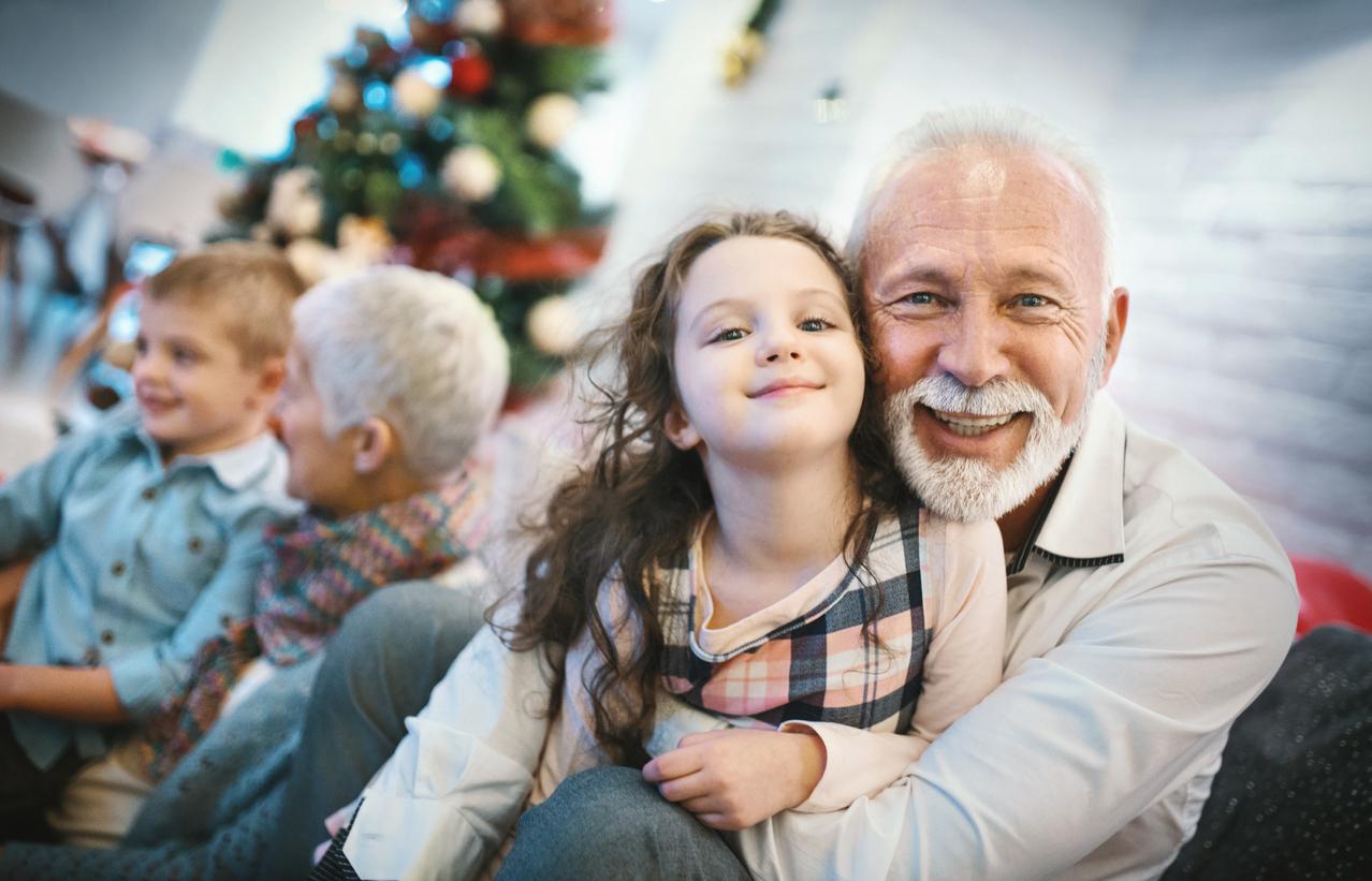 Weihnachtssprüche für Großeltern